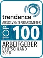 Trendence Top 100 AG (2018)